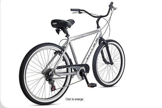 Men's multi-speed bike w/ hand brakes