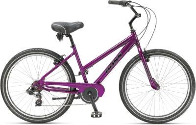 Ladies' multi-speed bike w/ hand brakes
