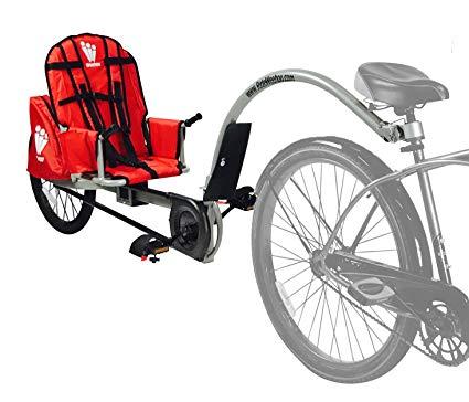 The Weehoo iGo bicycle trailer