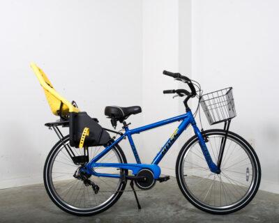 Men's multi-speed bike w/ Baby Seat